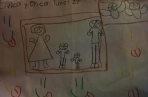 Dibujo de mi hijo Rubén