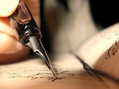 Pluma escribierndo