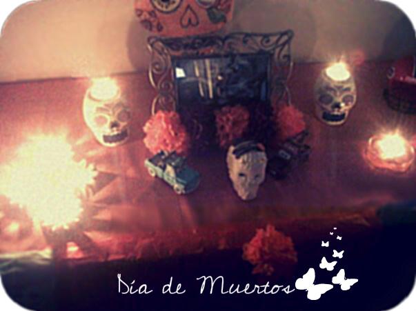 Altar de Muertos de Joaquín y Víctor, foto Fernanda Olguín