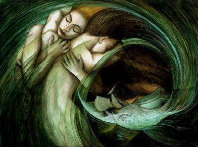 Mujeres+abrazadas